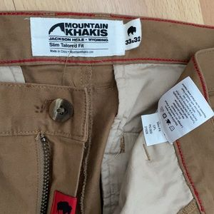 Mountain Khakis Slim Tailored Fit